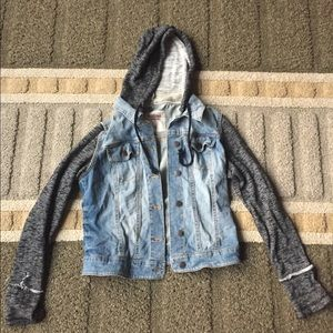 Sweatshirt Jean Jacket